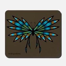 Copper Butterfly Mousepad