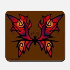 Red Butterfly Mousepad