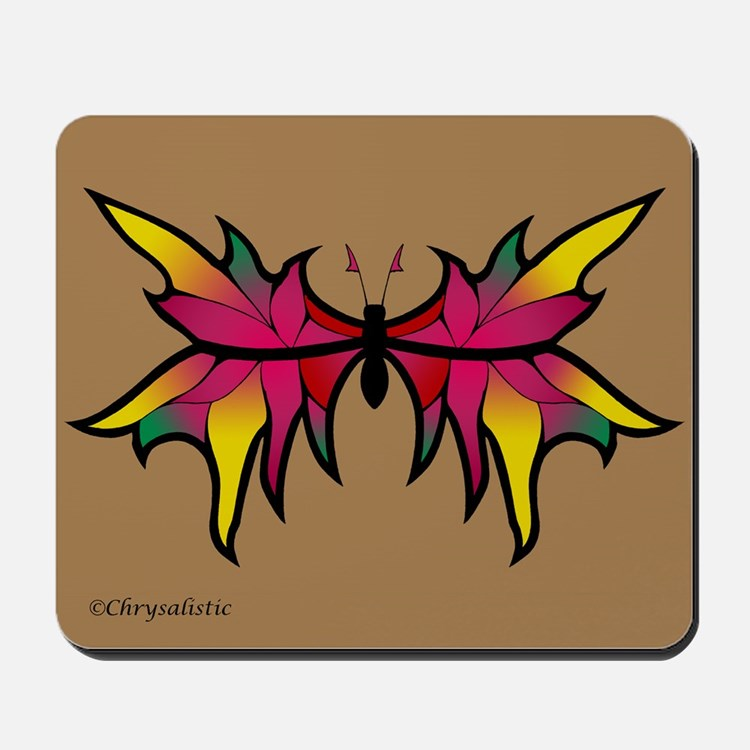 Garden Butterfly Mousepad