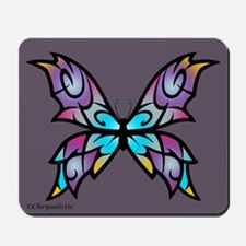 Freesia Butterfly Mousepad