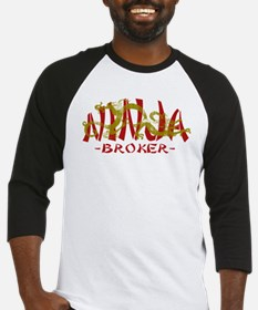 Dragon Ninja Broker Baseball Jersey