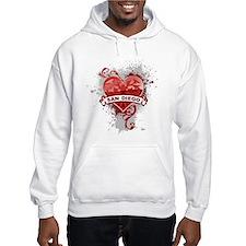 Heart San Diego Hoodie