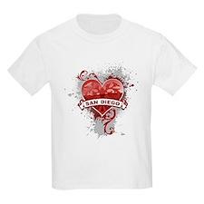 Heart San Diego T-Shirt