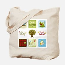 Think Green Reusable Shopping Bag