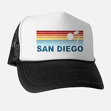 Palm Tree San Diego Trucker Hat