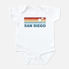 Palm Tree San Diego Infant Bodysuit
