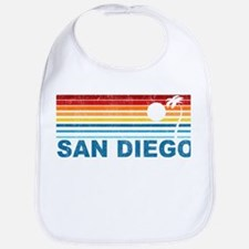 Palm Tree San Diego Bib