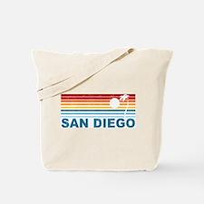 Palm Tree San Diego Tote Bag