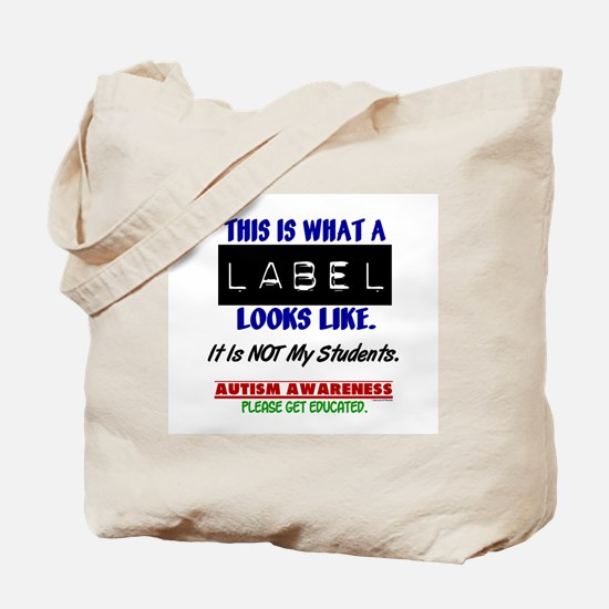 Label 1 Autism (Students) Tote Bag