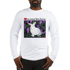 New Zealand White Bunnies Long Sleeve T-Shirt