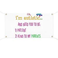 Autism Awareness Tee Banner