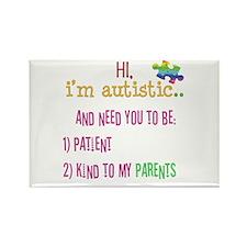 Autism Awareness Tee Rectangle Magnet (100 pack)