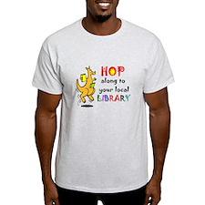 Funny library kangaroo T-Shirt