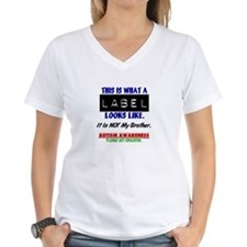 Label 1 Autism (Brother) Shirt