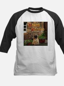 Cairn Terrier Garden Kids Baseball Jersey