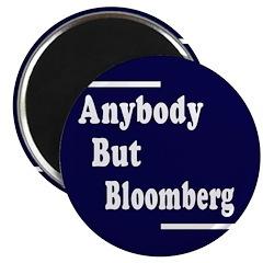 Anybody But Bloomberg Magnet