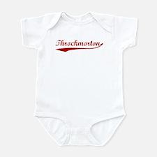 Throckmorton (red vintage) Infant Bodysuit