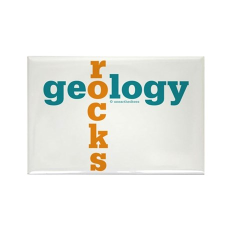 Geology Rocks Rectangle Magnet