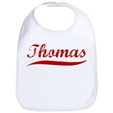 Thomas (red vintage) Bib