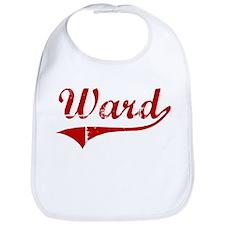 Ward (red vintage) Bib