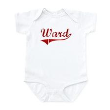 Ward (red vintage) Infant Bodysuit