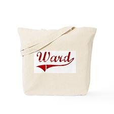 Ward (red vintage) Tote Bag