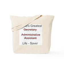 World's Greatest Secretary Tote Bag