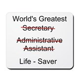 Secretary Mouse Pads