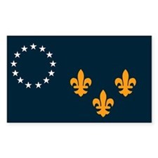 Louisville Flag Decal