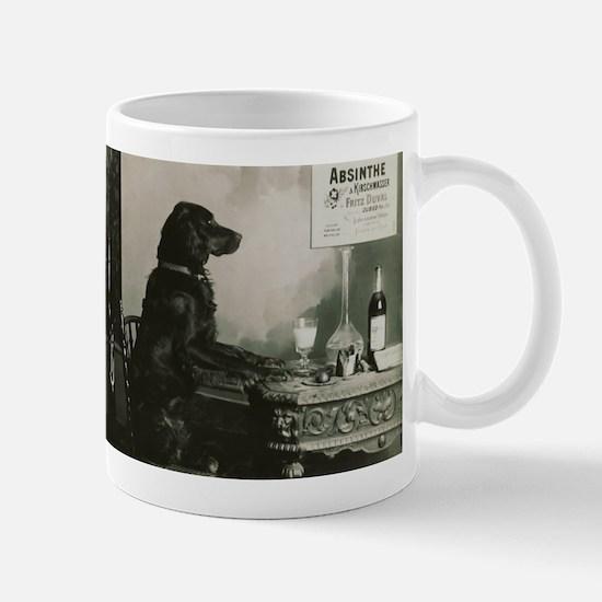 Absinthe Duval Dog Mug