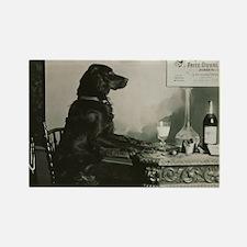Absinthe Duval Dog Rectangle Magnet
