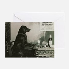 Absinthe Duval Dog Greeting Cards (Pk of 10)
