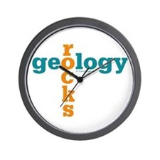Geology Rocks Wall Clock