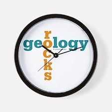 Geology Rocks Wall Clock
