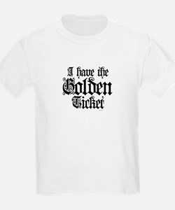 I have the golden ticket  Kids T-Shirt