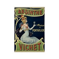 Absinthe Vichet Rectangle Magnet