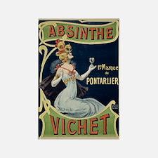 Absinthe Vichet Rectangle Magnet