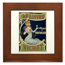 Absinthe Vichet Framed Tile