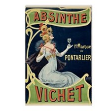 Absinthe Vichet Postcards (Package of 8)