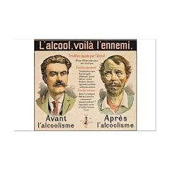 L'Alcool Voila l'Ennemi Posters
