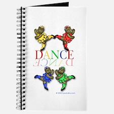 Dancing Ballerina Bears Journal
