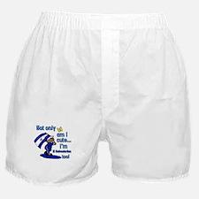 Not only am i cute I'm El Salvadorian Boxer Shorts
