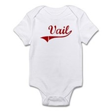 Vail (red vintage) Infant Bodysuit