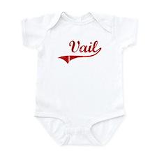 Vail (red vintage) Onesie