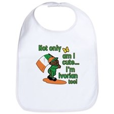 Not only am I cute I'm Ivorian too! Bib
