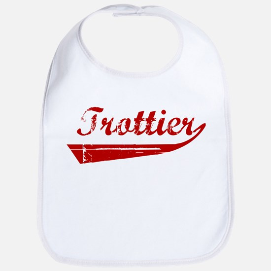 Trottier (red vintage) Bib