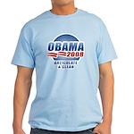 Obama 2008: Articulate & Clean Light T-Shirt