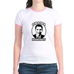 Obama is my homeboy Jr. Ringer T-Shirt