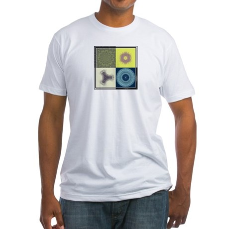 Natural Fractal Snowflakes S.T.M.O.G Fitted T
