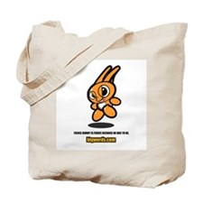 Cute bunny cartoon Tote Bag